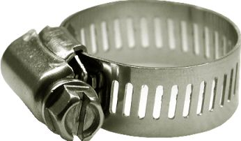 Perforated hose clamps W4