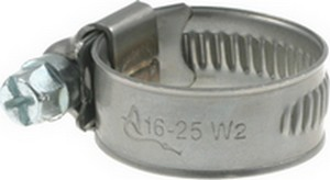 Stainless Steel Hose Clamps W2-12 mm
