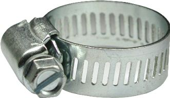 Perforated hose clamps W1
